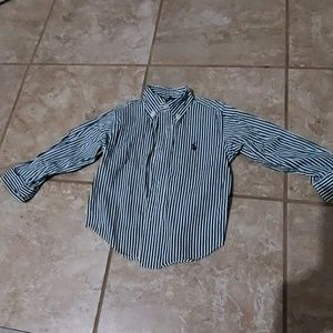Baby boy 18M button down shirt